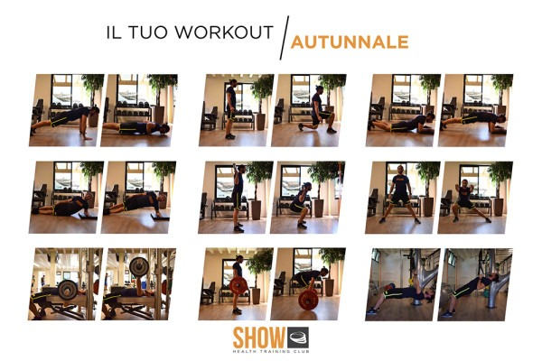 IL TUO WORKOUT AUTUNNALE
